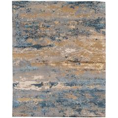Gorgeously Contrasted Modern Rug