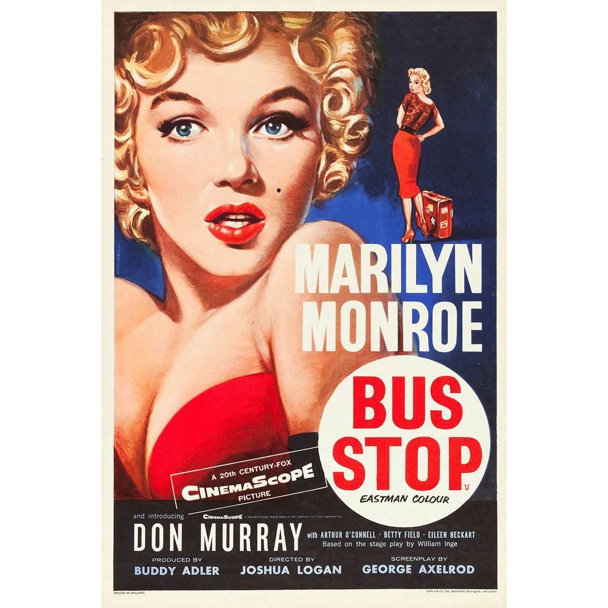 """Bus Stop"" Film Poster, 1956"