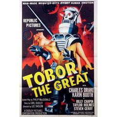 """""""Tobor The Great"""" Film Poster, 1954"""