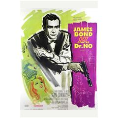 """Dr. No"" Film Poster, 1962"
