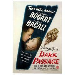 """""""Dark Passage"""" Film Poster, 1947"""
