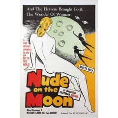 """""""Nude on the Moon"""" Film Poster, 1961"""