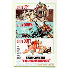 """""""Thunderball"""" Film Poster, 1965"""