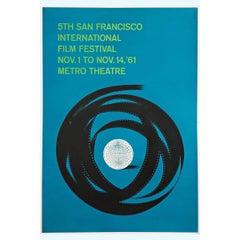 """5th San Francisco Film Festival"" Poster, 1961"