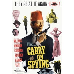 """""""Carry on Spying"""" Film Poster, 1964"""