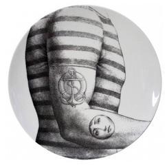 Atelier Fornasetti Porcelain Plate #215