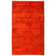 Overdyed, Area Rug, Red