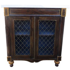 19th Century Regency Grain Painted Chiffonier