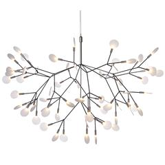 Moooi Heracleum II Suspension Led Light Fixture in Copper or Nickel