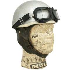 Vintage Cromwell 'Noll' Motorcycle Crash Helmet