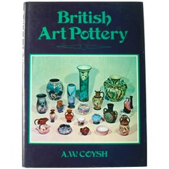 British Art Pottery by A.W. Coysh, First Edition