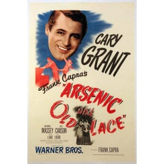 """""""Arsenic And Old Lace"""" Film Poster, 1944"""