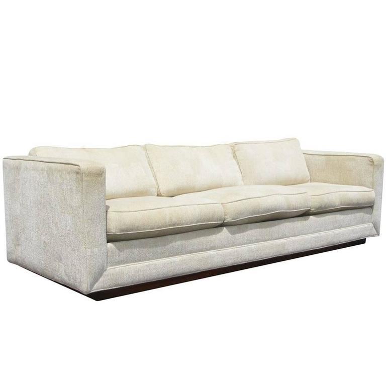 Vintage Mid Century Milo Baughman Thayer Coggin Sofa For