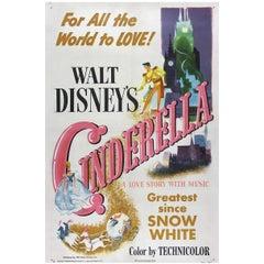"""Cinderella"" Film Poster, 1950"