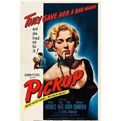 """Pickup"" Film Poster, 1951"