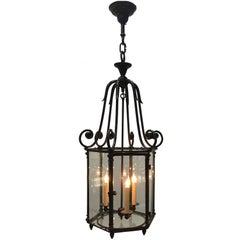 Louis XV Style Brass Lantern