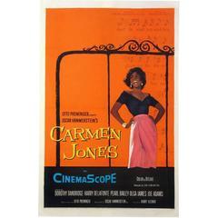 """""""Carmen Jones"""" Film Poster, 1954"""