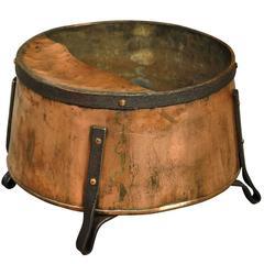 French 19th Century Wine Barrel Funnel, Vessel