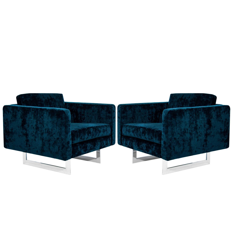 Jens risom floating bench for sale at 1stdibs - Jens Risom 65 Series Skate Lounges