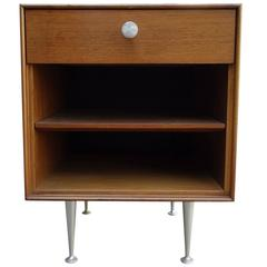 Mid-Century George Nelson Thin Edge Side Table or Nightstand