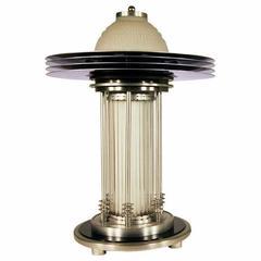 Art Deco Style Machine Age Table Lamp
