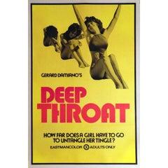 """Deep Throat"" Film Poster, 1972"