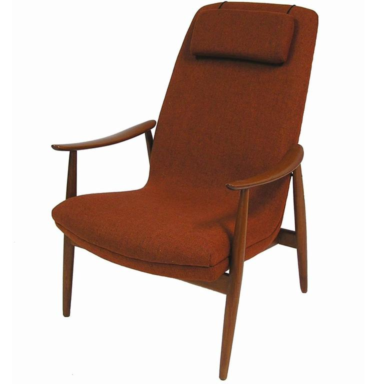 1960s Teak Lounge Chair by Ingmar Relling for Westnofa For Sale