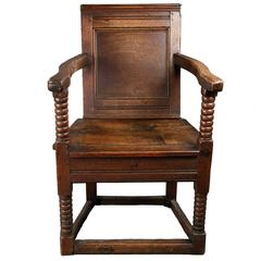Jacobean Oak Armchair
