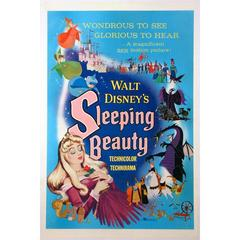 """Sleeping Beauty"" Film Poster, 1959"