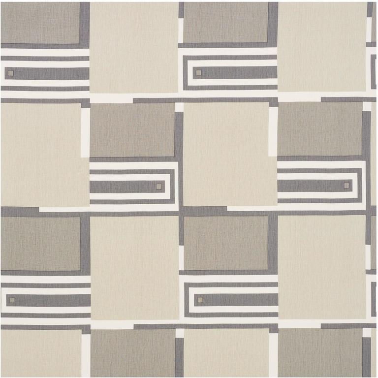 Schumacher Frank Lloyd Wright Schumacher Design 101 Neutral Linen 4-Yard Panel