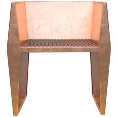 Sentient Sapience Chair Copper Leaf Finish