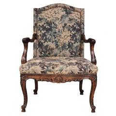 Tapestry Upholstered Fauteuil