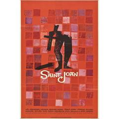 """Saint Joan"" Poster, 1957"