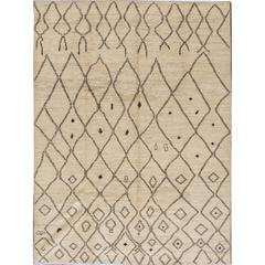 Great Looking Modern Moroccan Style Rug