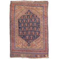 Late 19th Century Red Afshar Rug