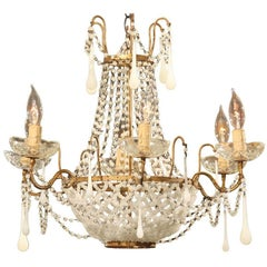 Italian Glass Bead Chandelier