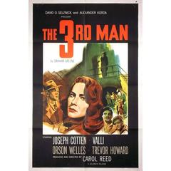 """The Third Man"" Film Poster, 1949"