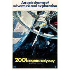 """""""2001: A Space Odyssey"""" Film Poster, 1968"""