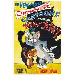 """Tom And Jerry"" Poster, 1955"