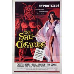 """""""The She Creature"""" Film Poster, 1956"""