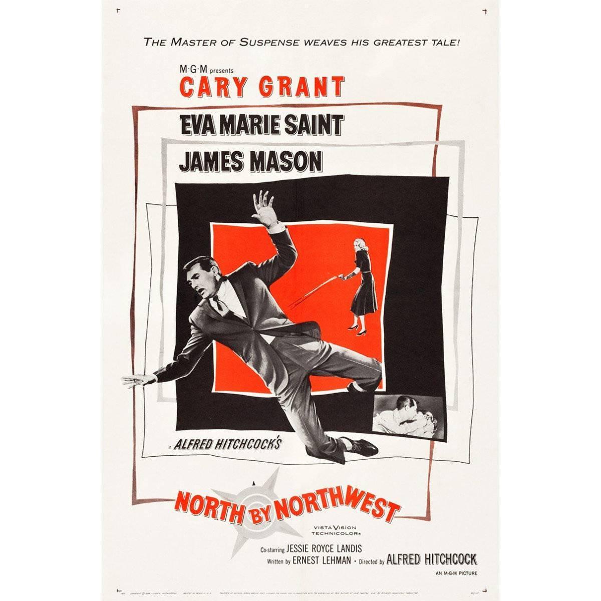 """""""North By Northwest"""" Film Poster, 1959"""