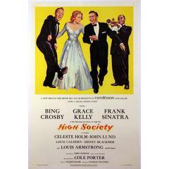 """High Society"" Film Poster, 1956"