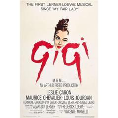 """""""Gigi"""" Film Poster, 1958"""