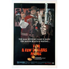 """For a Few Dollars More"" Film Poster, 1965"