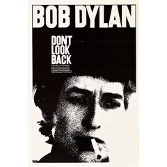 """""""Dont Look Back"""" Film Poster, 1967"""