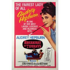 """Breakfast at Tiffany's"" Film Poster, 1965"
