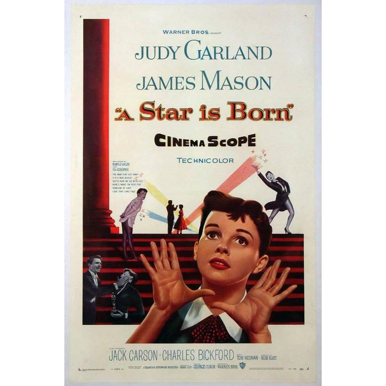 Quot A Star Is Born Quot Film Poster 1954 For Sale At 1stdibs