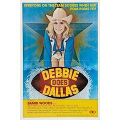"""""""Debbie Does Dallas"""" Film Poster, 1978"""