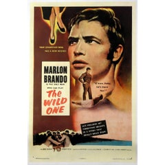 """""""The Wild One"""" Film Poster, 1953"""