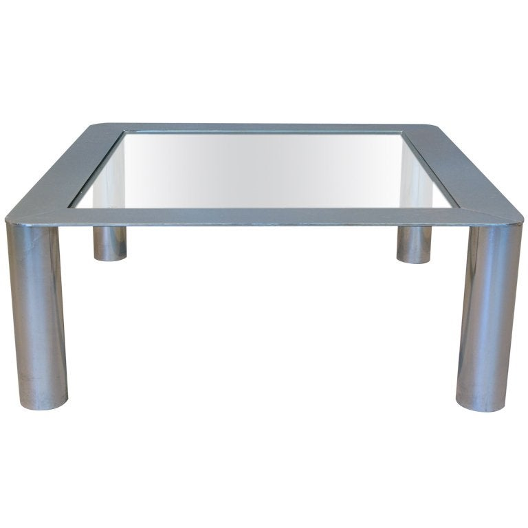 Large Italian Coffee Table by Mazza and Gramigna